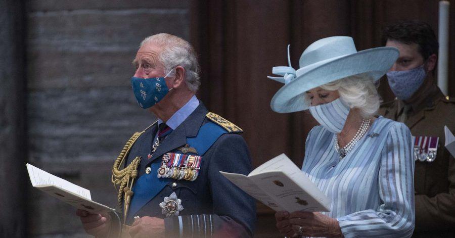 Der britische Prinz Charles, Prinz von Wales, und Camilla, Herzogin von Cornwall, nehmen an einem Dankes- und Umwidmungsgottesdienst anlässlich des 81. Jahrestages der Schlacht um Großbritannien in der Westminster Abbey teil.