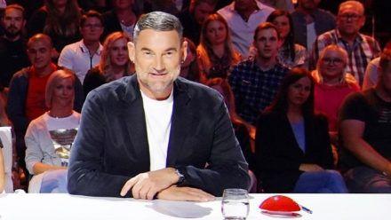 "Michael Michalsky in seinem ""Supertalent""-Jurystuhl. (jom/spot)"