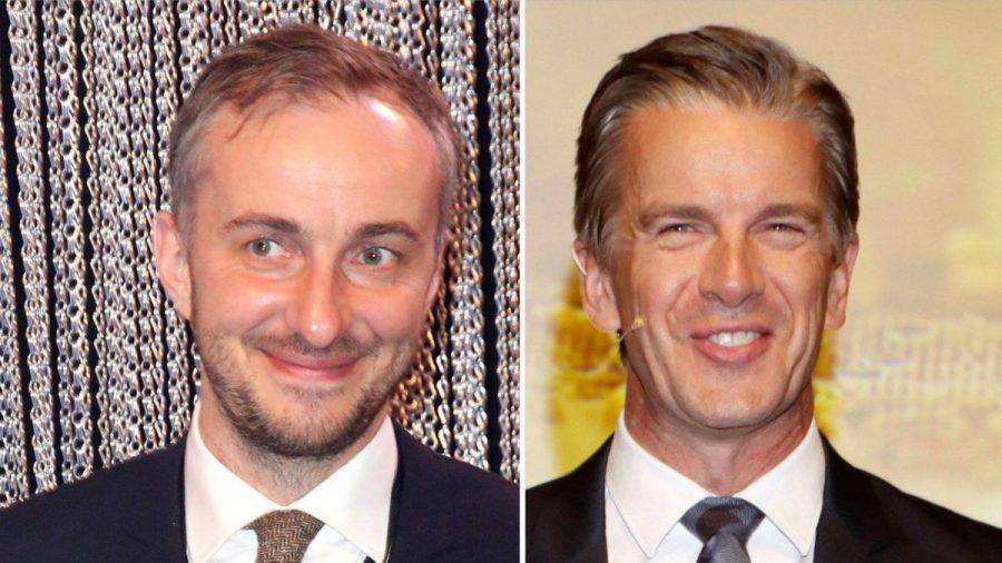 Jan Böhmermann (li.) und Markus Lanz lieferten sich einen verbalen Schlagabtausch.  (stk/spot)