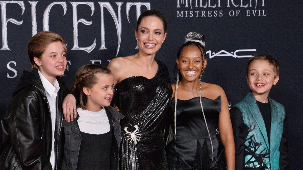 Angelien Jolie bringt einen Ratgeber für Kinder raus