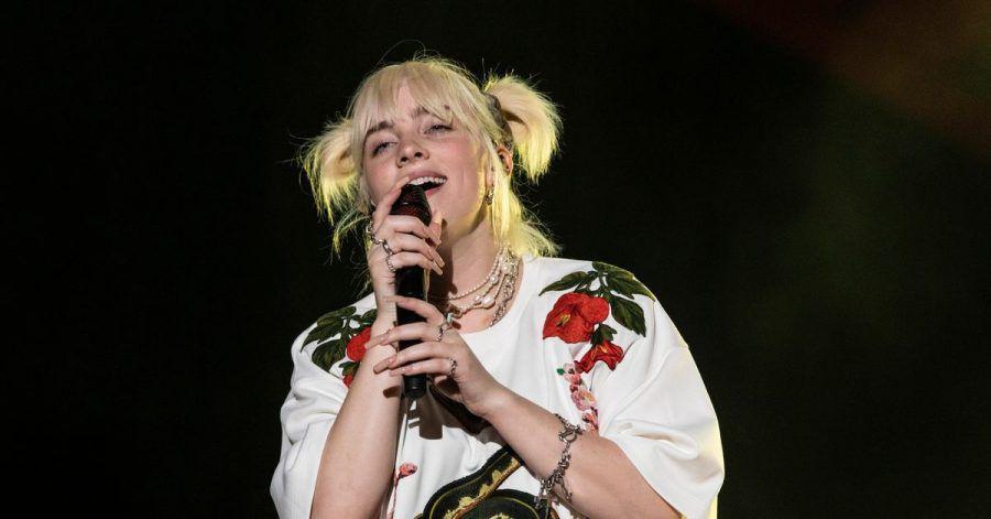 Shootingstar Billie Eilish beim Global Citizen Live-Konzert im Central Park in New York.