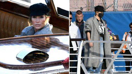 So stylte Jennifer Lopez ihre Bakerboy Cap. (kms/spot)
