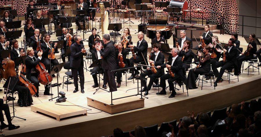 Die neue Konzertsaison im Großen Saal der Elbphilharmonie Hamburg beginnt.