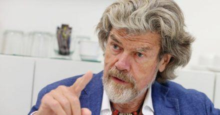 Der Südtiroler Bergsteiger Reinhold Messner wird 77.