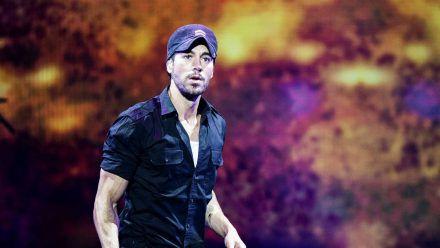 Enrique Iglesias bei einem seiner Konzerte. (hub/spot)