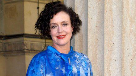 Regisseurin Maria Schrader bei einem Auftritt in Berlin. (hub/spot)