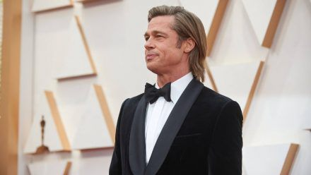 Brad Pitt: schlecht gelaunt im Alter