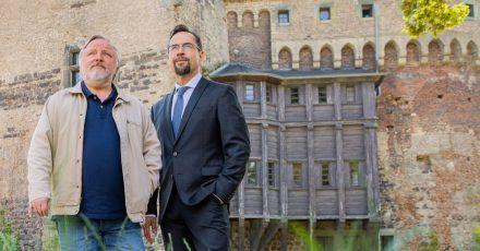 Müssen wieder ran: Jan Josef Liefers (r) als Karl-Friedrich Boerne und Axel Prahl als Frank Thiel.