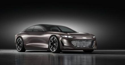 Fließende Linien: Mit der Studie Grandsphere gibt Audi einen Ausblick auf das Aussehen des nächsten A8.