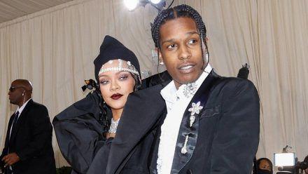 Rihanna und A$AP Rocky bei der Met Gala 2021 (smi/spot)