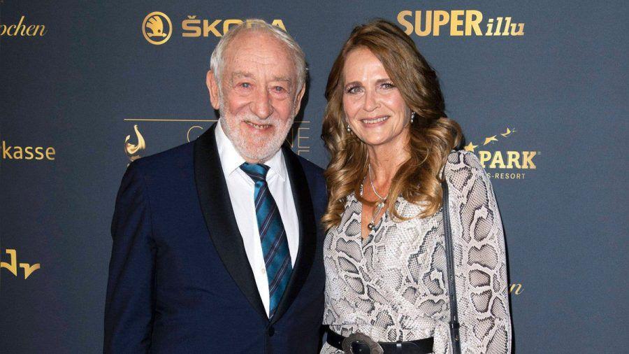 Schauspieler Dieter Hallervorden und Ex-Stuntfrau Christiane Zander trennen rund drei Jahrzehnte. (wag/spot)