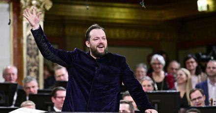 Andris Nelsons, Dirigent aus Lettland, hat die Musik von Richard Wagner schon al Kind kennengelernt.