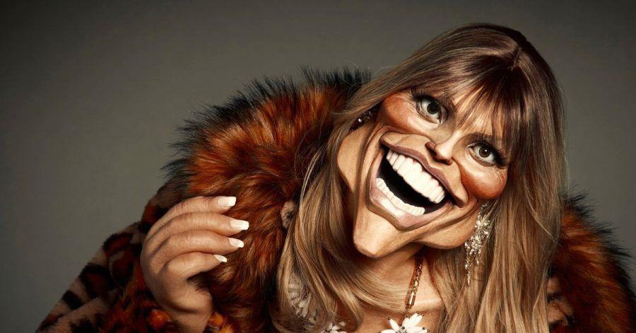 Heidi Klum als Promi-Puppe.