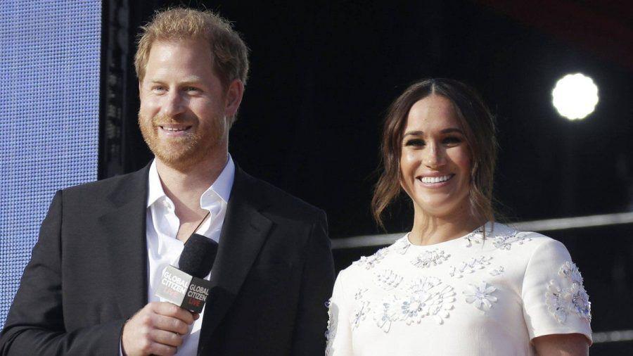 Prinz Harry und Herzogin Meghan beim Global Citizen Live in New York. (aha/spot)
