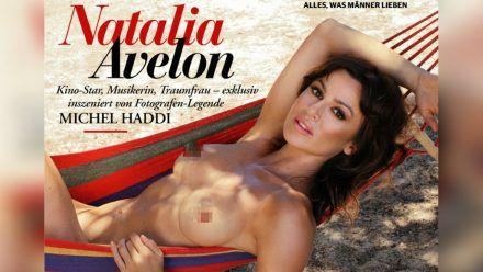 """Natalia Avelon wurde für den """"Playboy"""" von Michel Haddi fotografiert. (tae/spot)"""