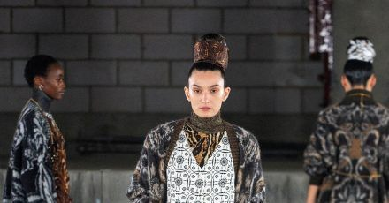 Der Designer Edward Crutchley mag Muster.