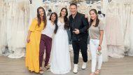 Beschert Guido Maria Kretschmer Braut Maria mit Freundin Julia, Mutter Jean und Schwester Anna (v.li.) eine Traumhochzeit? (tae/spot)