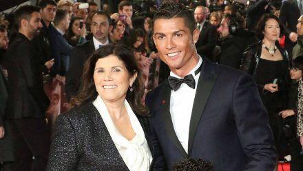 Dolores Aveiro und Cristiano Ronaldo auf dem roten Teppich (mia/spot)