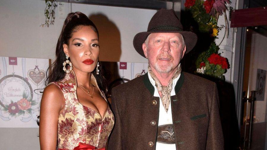 Boris Becker zeigt hier seine Freundin Lilian de Carvalho