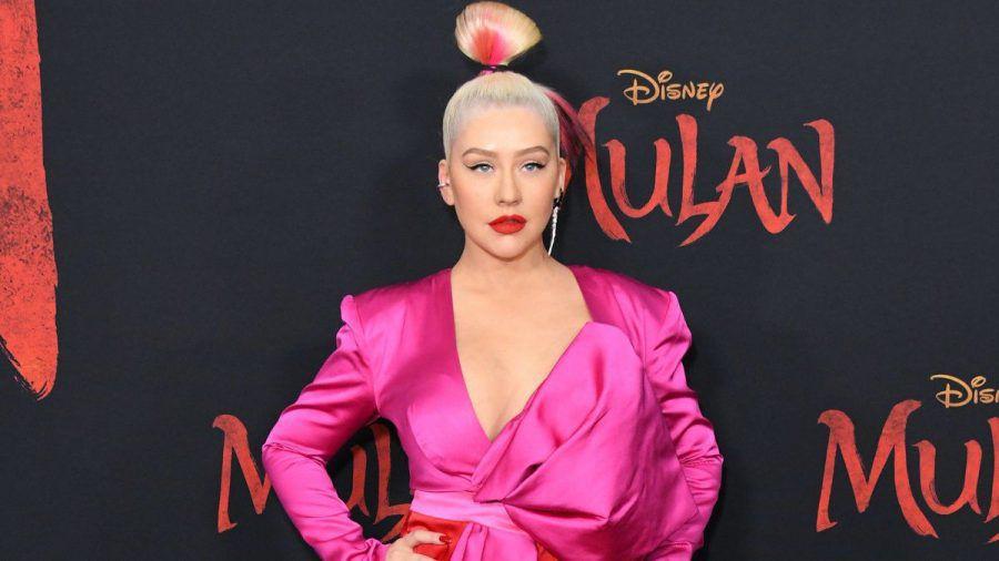 US-Sängerin Christina Aguilera geizt nicht mit ihren Reizen. (ili/spot)