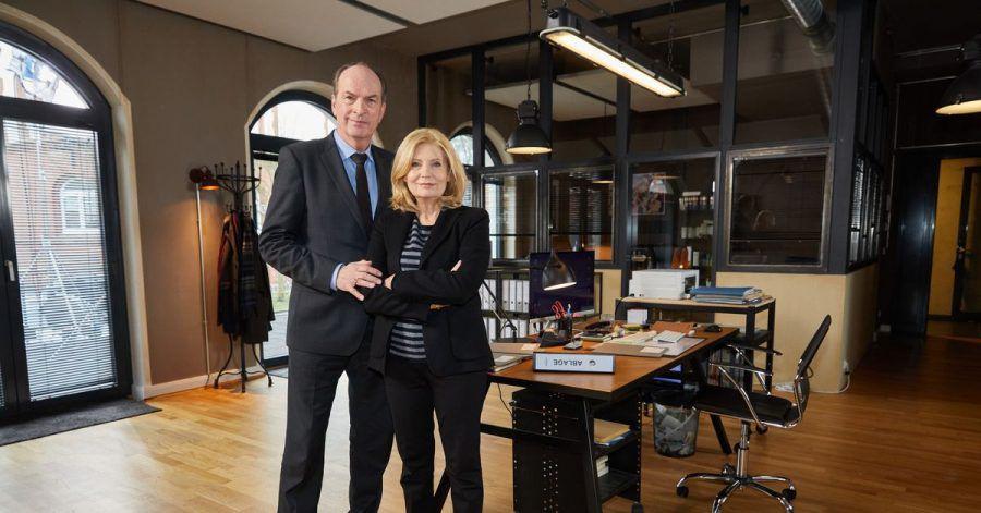 Herbert Knaup und Sabine Postel lockten wieder viele Fernsehzuschauer in ihre TV-Kanzlei.