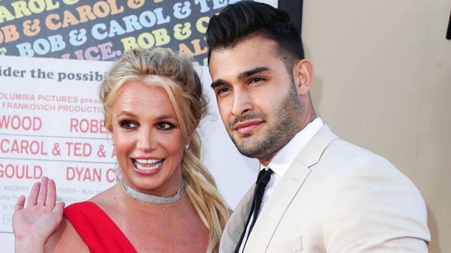Britney Spears und ihr Verlobter Sam Asghari (mia/spot)