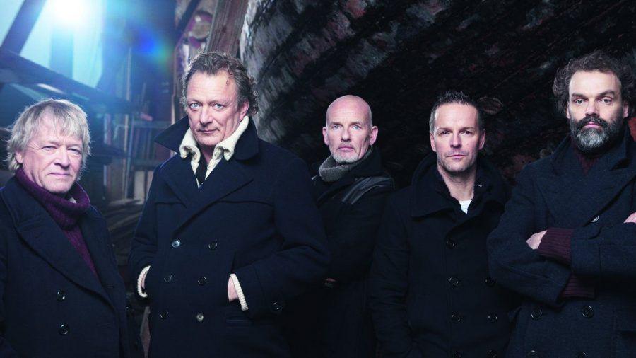 Peter David Sage, Andreas Fahnert, Björn Both, Axel Stosberg und Hans-Timm Hinrichsen (v.l.) machen bereits seit zehn Jahren gemeinsam Musik. (tae/spot)
