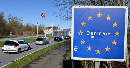 Ein Radfahrer hat sich mächtig verfahren und ist in Dänemark anstelle von Italien angekommen.