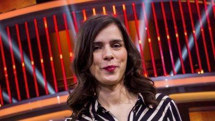 Nora Tschirner während einer TV-Aufzeichnung im Februar 2020. (dr/spot)