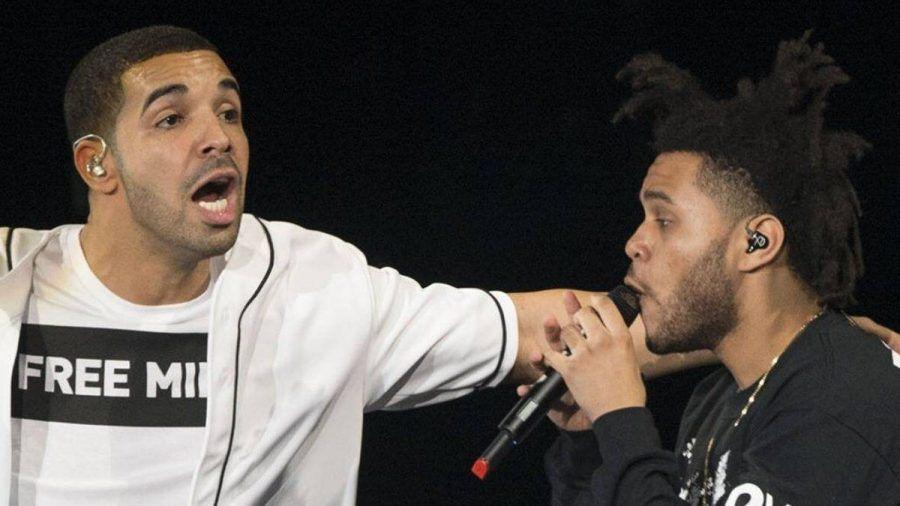 Drake und The Weeknd sind kanadische Superstars. (ili/spot)