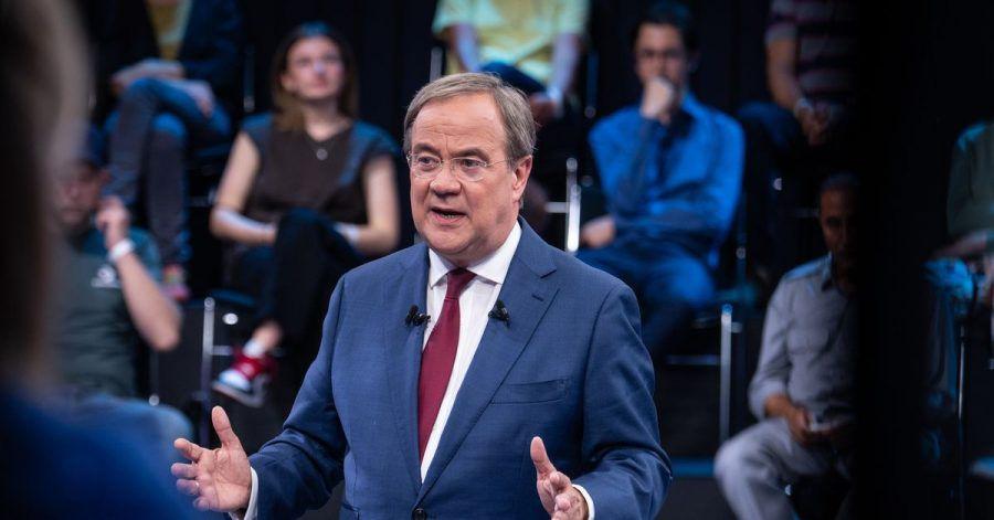 Armin Laschet (CDU) will Kanzler werden.