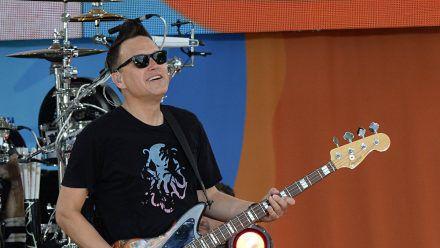 Mark Hoppus ist nicht nur Sänger, sondern auch Bassist von Blink-182. (wag/spot)