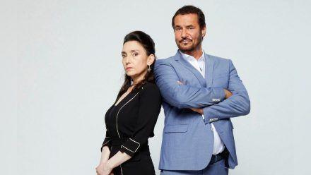Eingespieltes Team: Silvan-Pierre Leirich mit Kollegin Tatjana Clasing in ihren Rollen als Simone und Richard Steinkamp. (jom/spot)