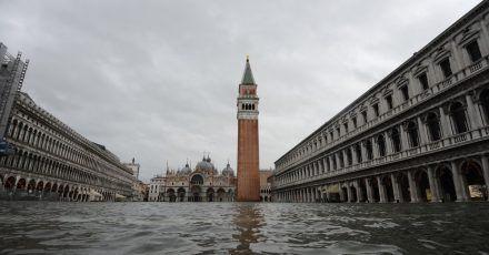 Klima- und Meeresforscher prognostizieren für die Region Venedig einen Anstieg des Meeresspiegels um mehr als einen Meter bis 2100.
