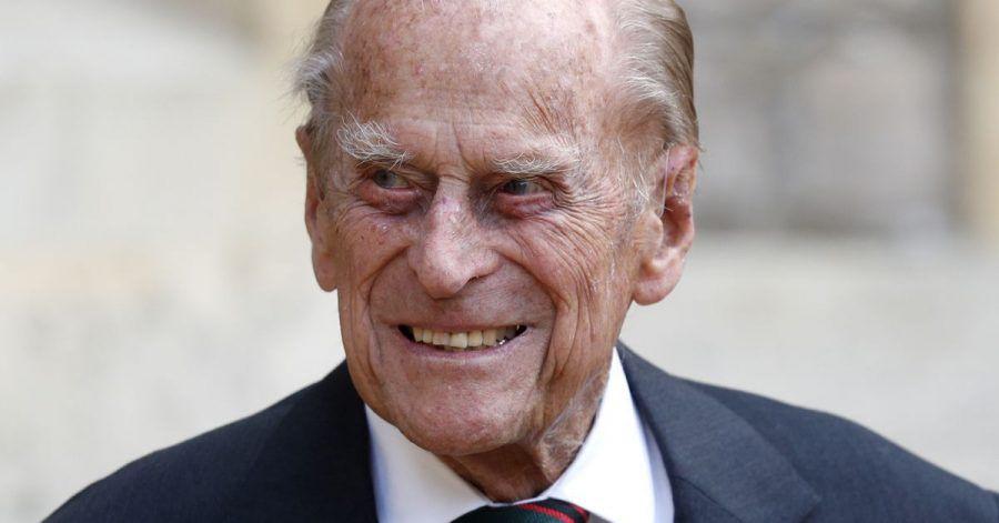 Der britische Prinz Philip, Herzog von Edinburg (2020).