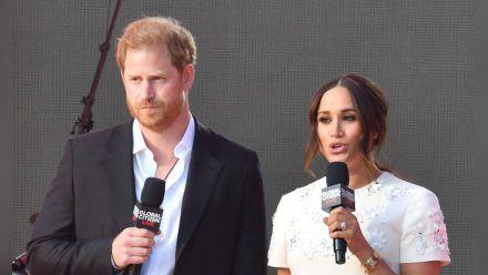 Sind Prinz Harry und Herzogin Meghan scheinheilig? (stk/spot)