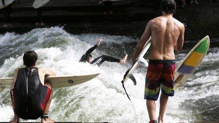 Flusssurfen wird immer beliebter