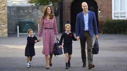 Endlich können die königlichen Kids wieder zur Schule gehen, und zwar hier!