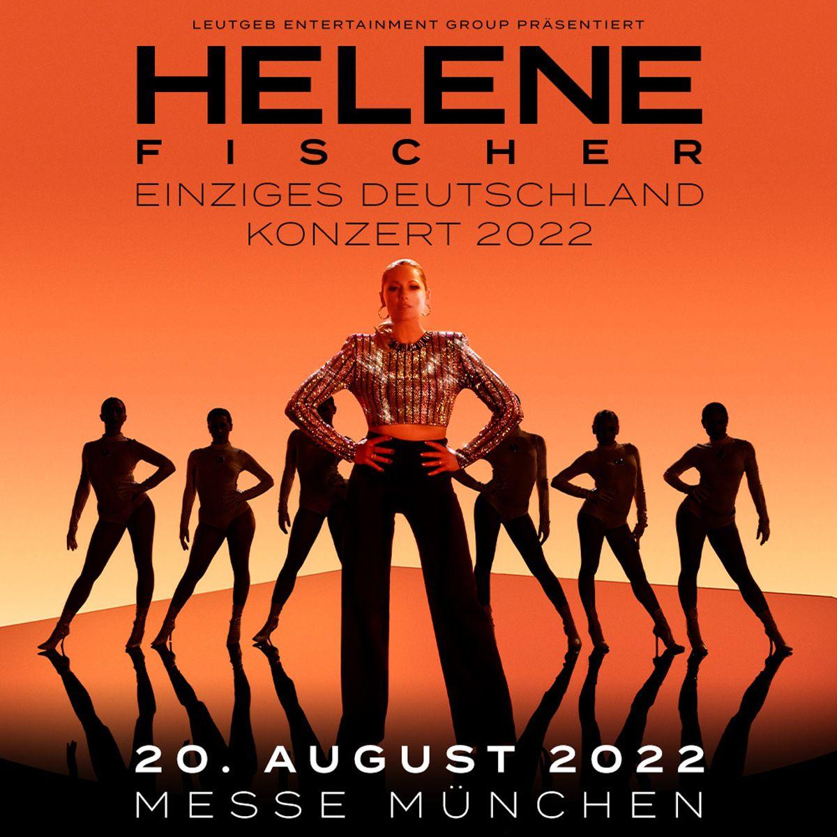 Helene Fischer mit riesigem Open Air: Einzige Show 2022 in Deutschland