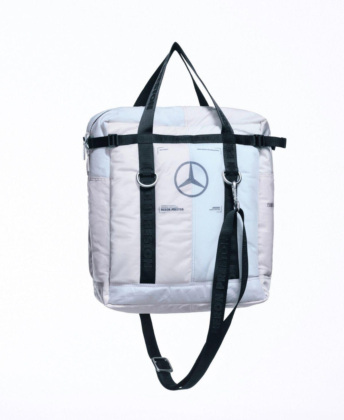 Mercedes-Benz x Heron Preston entwerfen aufblasbare Airbags zum anziehen