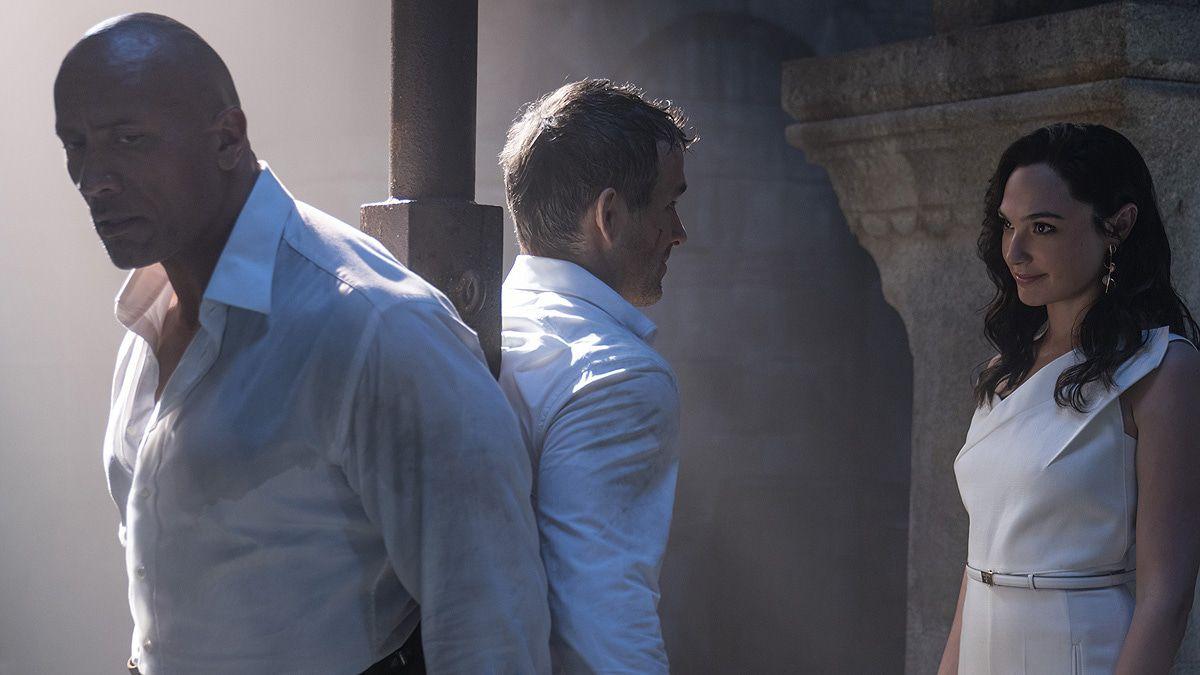 """Erster """"Red Notice""""-Trailer mit Johnson, Gadot und Reynolds"""