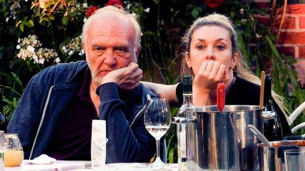 Roland Heitz und Janina Korn.