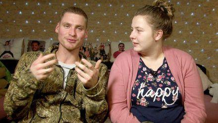 Sarafina Wollny und ihr Peter sind stolz auf ihre Zwillinge