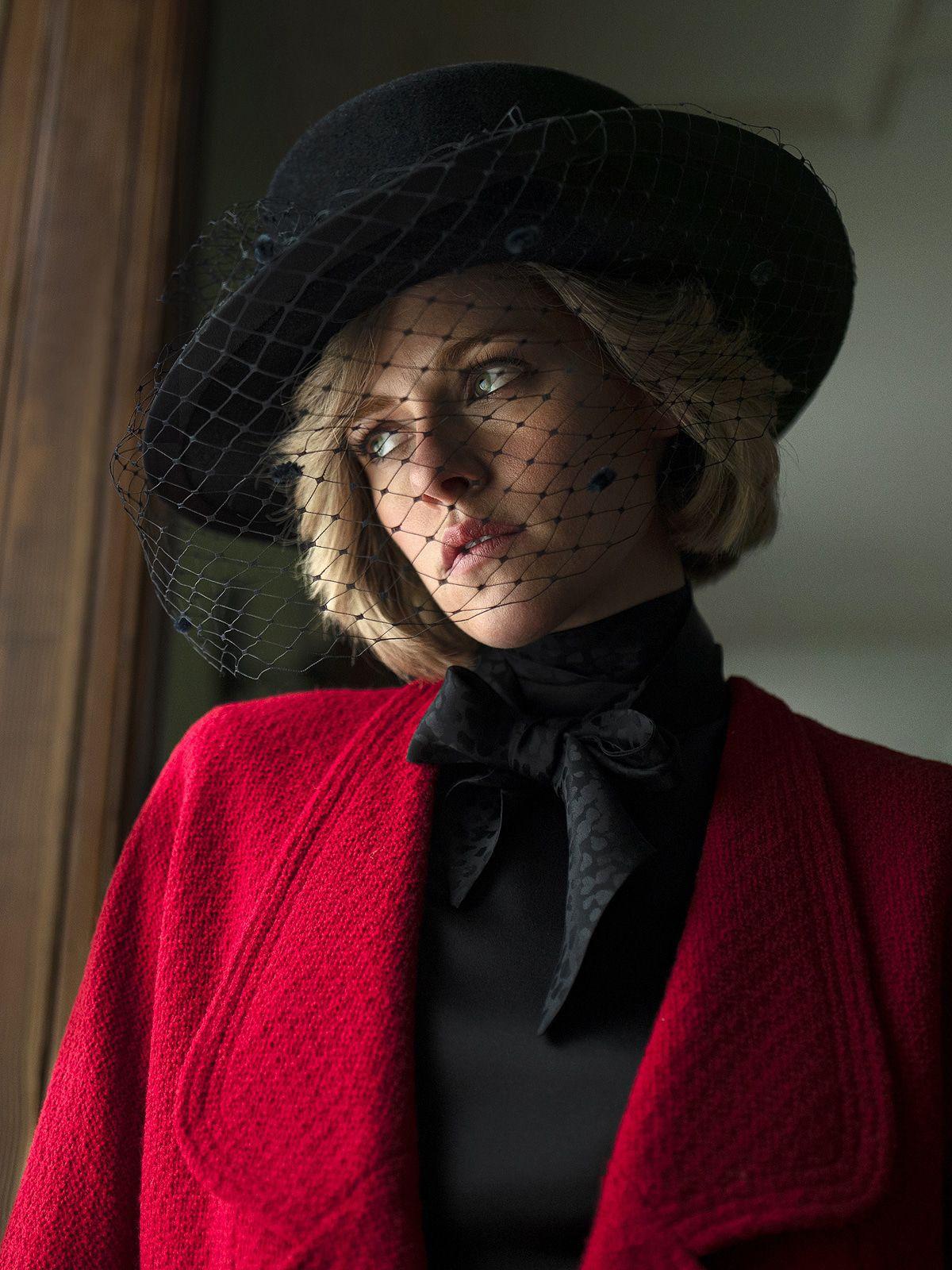 Kristen Stewart als Diana beimFilmfest Venedig