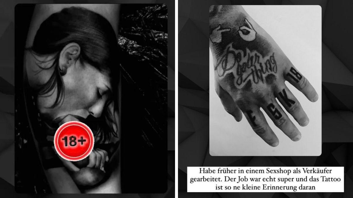 Reality-Star schockt mit Blowjob-Tattoo