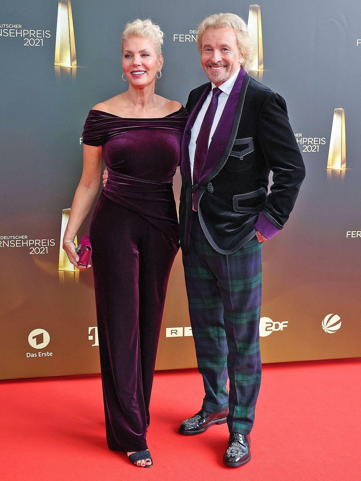 Thomas Gottschalk und seine Karina