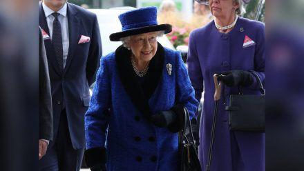 Queen Elizabeth II. in Ascot. (hub/spot)