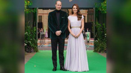 Starker Auftritt: Prinz William und Herzogin Kate beim Earthshot Prize 2021. (stk/spot)
