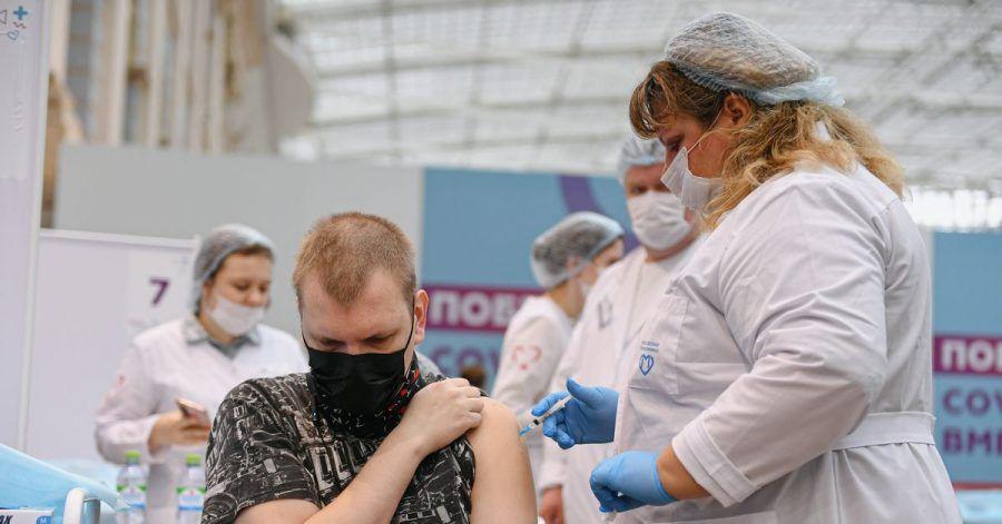 In Russland sind bisher nur 34 Prozent der Bevölkerung gegen das Corona-Virus geimpft.