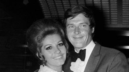 Luisa Mattioli und Roger Moore lernten sich bei Dreharbeiten im Jahr 1961 kennen. (dr/spot)